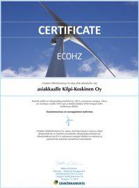kilpi-koskinen-sertifikaatti